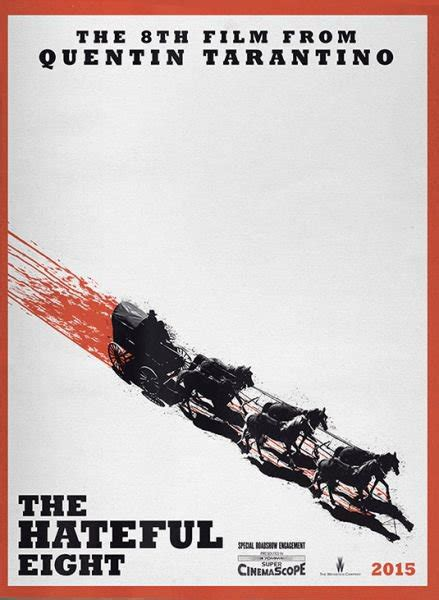 quentin tarantino film the hateful eight first poster for quentin tarantino s the hateful eight