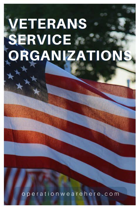 service organizations veteran service organizations