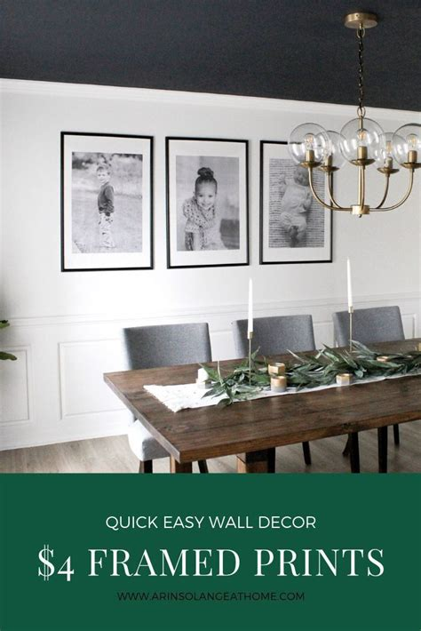 large framed engineering prints dining room wall decor