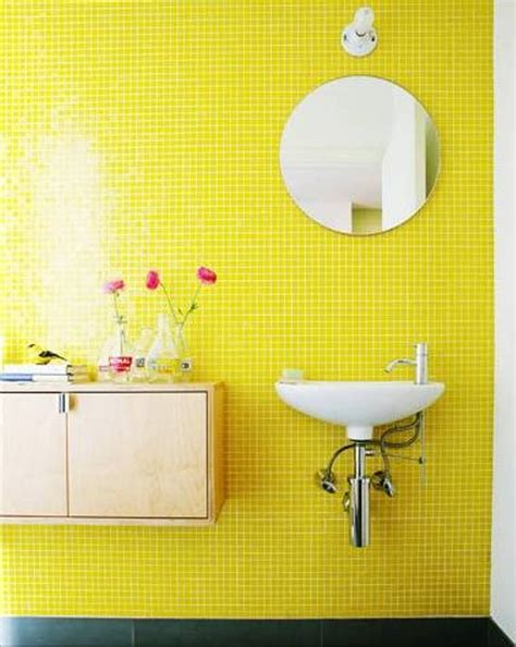 Attrayant Salle De Bains Blanche #4: Salle-de-bain-jaune-29.jpg