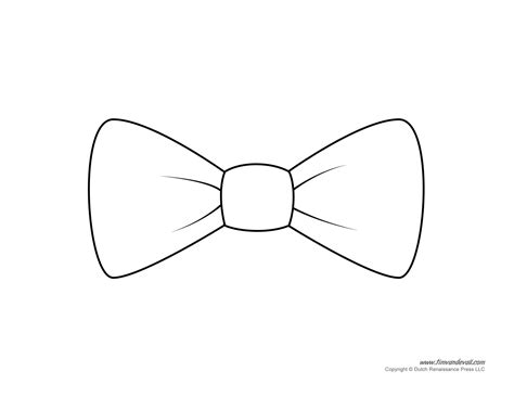 free bow tie template printable tim de vall comics printables for