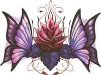 Lotus Flower Butterfly Lotusblume Schmetterlinge Tattooforaweek Entfernbare