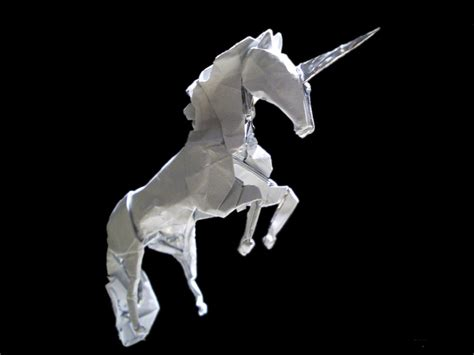 Origami Unicorn - unicorn origami by mitanei on deviantart