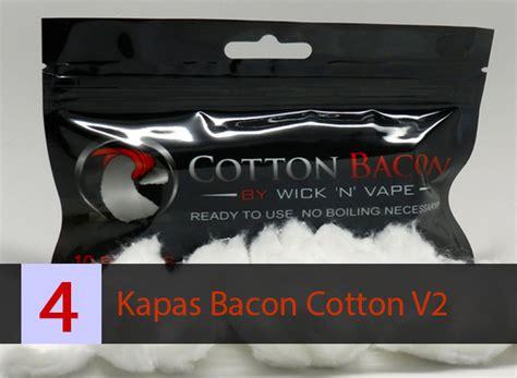 Muji Cotton Organic Vape Muji Kapas Vapor Kapas Vaping Repack 5 Pa memilih jenis kapas yang bagus untuk vapor vapeku