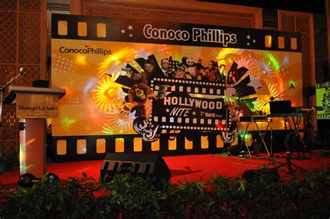 backdrop design for annual dinner conoco annual dinner 09 egg events event management