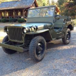 1944 Willys Jeep For Sale 1944 Willys Mb Jeep Gpw For Sale Photos
