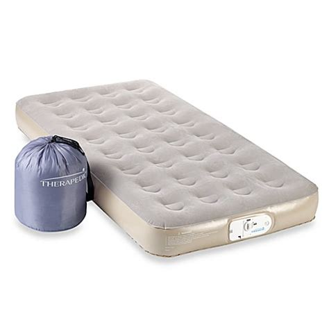 therapedic 9 quot height back to college air mattress bed bath beyond
