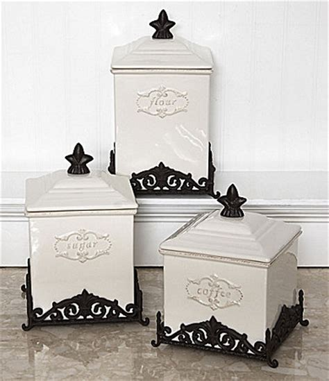 dillards kitchen canisters daniel cremieux home quot antoinette quot canisters dillards for the home