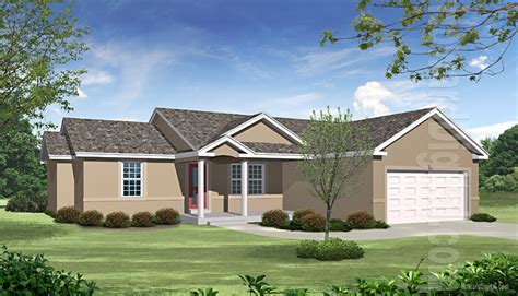 House Greensboro Nc by House Illustration Home Rendering Greensboro