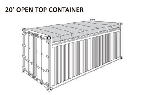 container dimensioni interne container
