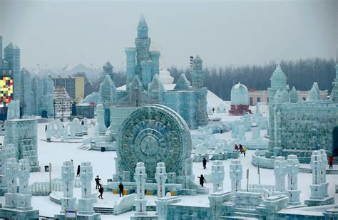 harbin s and snow festival never fails to amaze