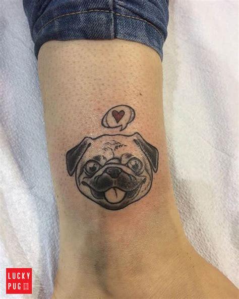 black amp grey pug tattoos on legs pug tattoo picture