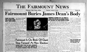 Indiana s digital newspaper program james dean death photos autopsy