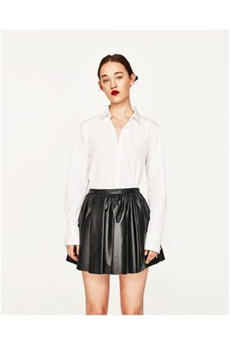 Zara Mini Skirt Rok Pendek Anak zara leren rokken kleding nl vergelijk koop