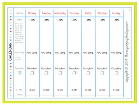 organizing schedule template printable weekly calendar template your track and