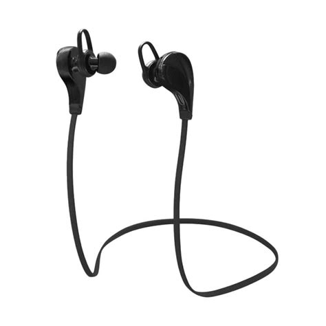 Headset Wireless Kecil jual knowledge zenith qkz g6 sport wireless bluetooth headset hitam harga kualitas