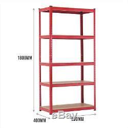 heavy duty steel racking shelving  bays  tiers