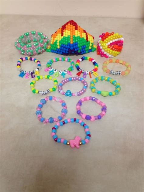 pony bead bracelet ideas 466 best images about kandi ideas on glow