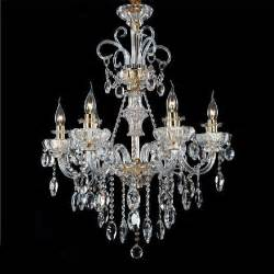 Room Chandeliers Italian Style Bedroom Chandelier 6 Lights Modern