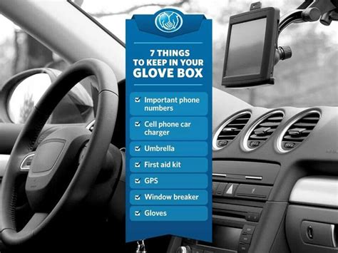 8 Things To Keep In Your Glove Box by 7 Things To Keep In Your Glove Box Great Diy Ideas
