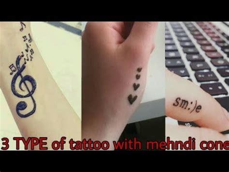 diy henna mehndi tattoo tattoos design beautiful easy