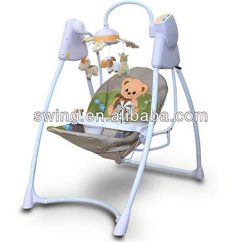 baby electronic swing electronic baby hammock baby folding swing swing cradle