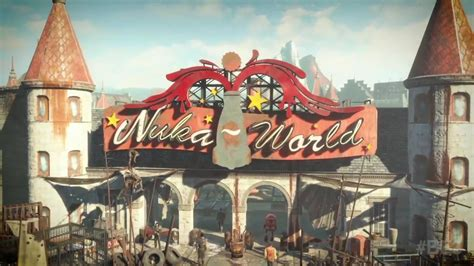 fallout 4 nuka world park t shirt small heather grey fallout 4 nuka world review vgu