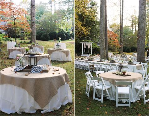 Rustic Vintage Backyard Wedding Of Emily Hearn Rustic Backyard Wedding Reception Ideas