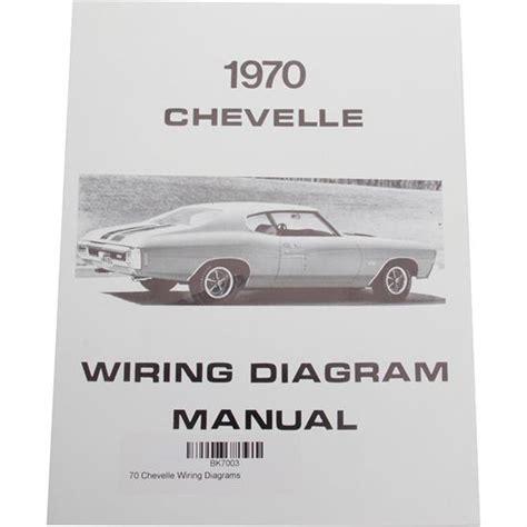 jim osborn mp0097 1970 chevelle wiring diagrams ebay