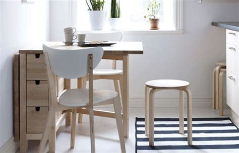 kitchen table small space how to choose small kitchen tables from ikea modern kitchens