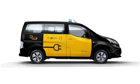 tesorera pagar bono para taxis y vehculos de transporte e taxi de nissan coches el 233 ctricos nissan