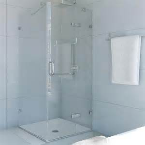vigo vigo 36 inch x 48 inch frameless shower stall in
