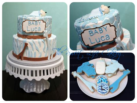 Blue Safari Baby Shower Cake by Blue Safari Baby Shower Cakecentral