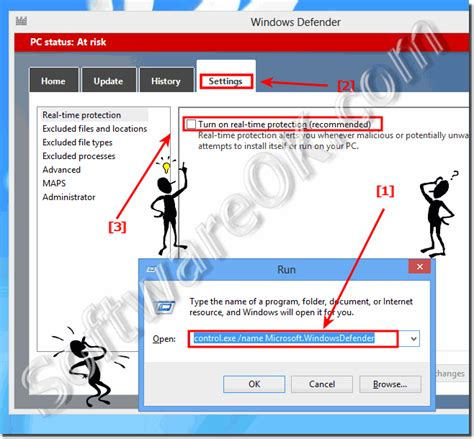 windows 8 defender turn on how to turn on or off the windows defender in win 8 10
