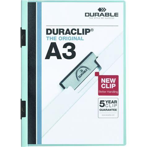 cartelline per ufficio cartellina duraclip a3 durable 2218 06 ufficio