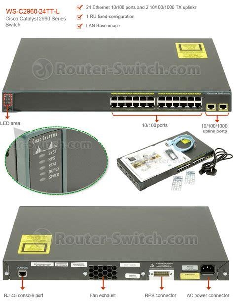 Router Cisco Catalyst 2960 Cisco Switch Comparison Catalyst 2960 Vs 3560 Vs 3750 Vs