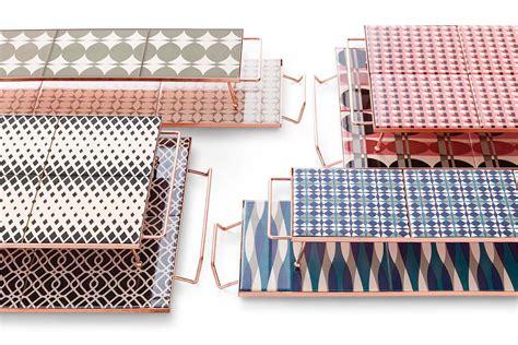 Cool Designer Flavia Pra handcrafted geometric trays by flavia pra design milk
