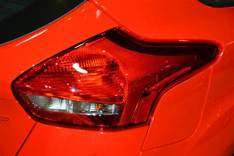 2015 focus st tail light tint 2016 ford focus st tail light photograph by mike martin