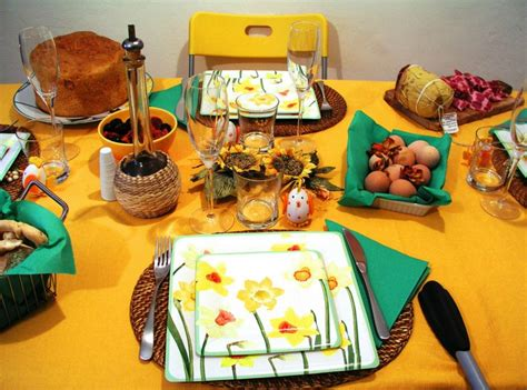 la tavola di pasqua tavola di pasqua 5 meravigliose idee per decorarla