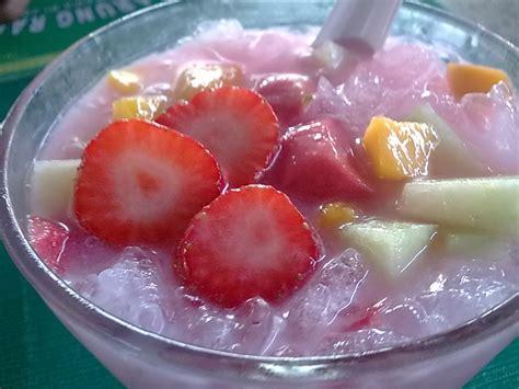 cara membuat es buah timun es cur desserts pinterest