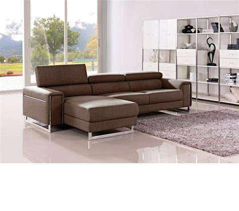 modern fabric sectional dreamfurniture com divani casa 1162b modern fabric