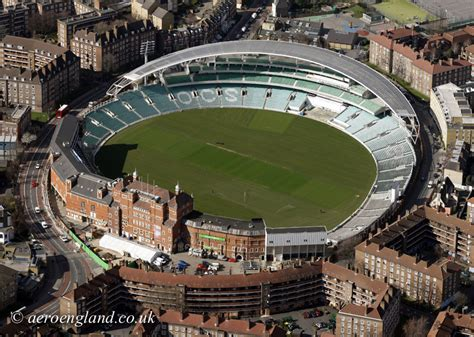 The Oval | aerial photograph of birmingham