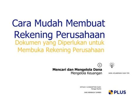 membuat rekening usaha getting fund and managing it wisely plus platform