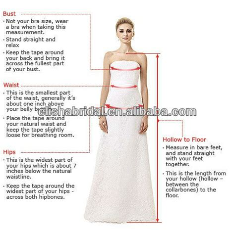 How To Measure Hollow To Floor Measurement For Dress by Hollow To Hem