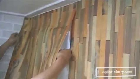 sticky wallpaper how to hang self adhesive wallpaper on walls by