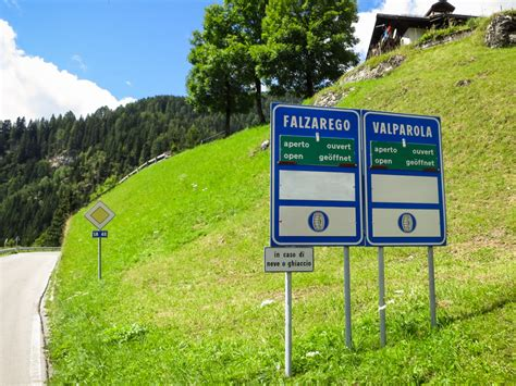 Side Elevation by Passo Falzarego Amp Valparola Cycling The Dolomites Climbs