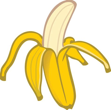 clipart of free clipart of a banana