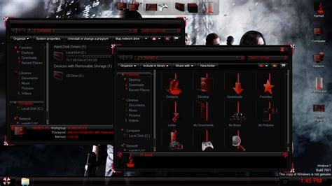 download theme windows 7 resident evil resident evil skinpack skinpack customize your digital