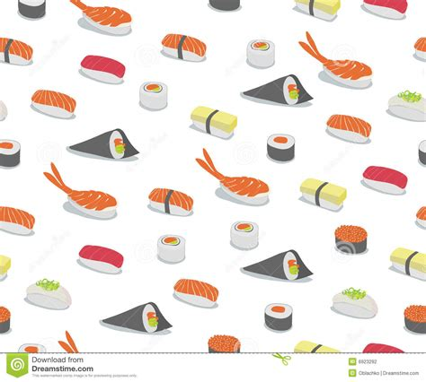 types of pattern in photography sushi pattern stock photography image 6923292