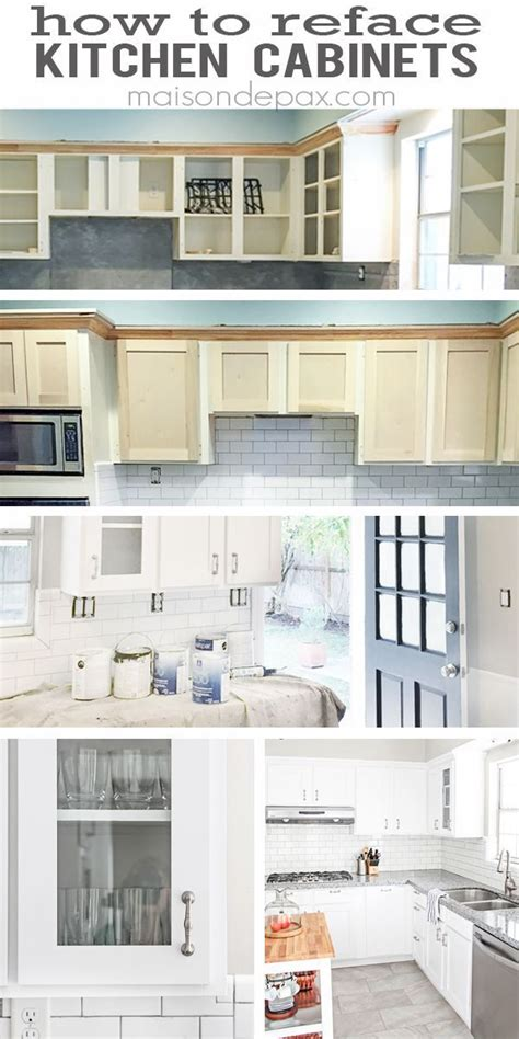 kitchen cabinet resurfacing ideas best 25 refacing kitchen cabinets ideas on